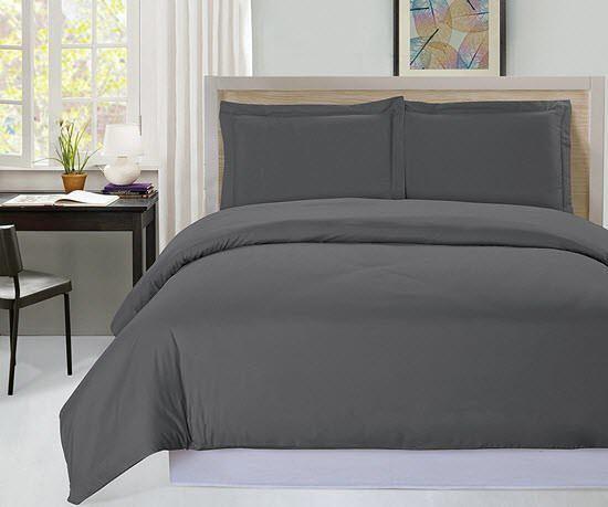 3 Piece Comforter Duvet Insert White