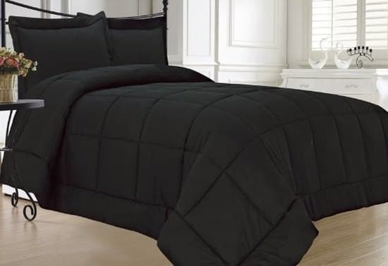 KingLinen Black Comforter Sets