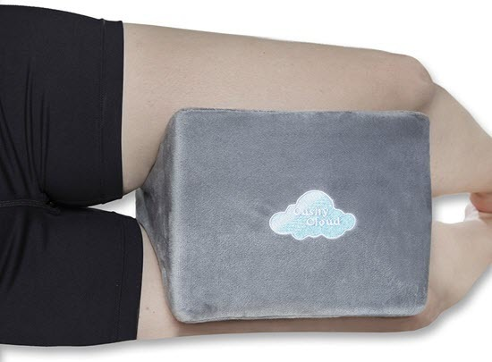 Cushy Cloud Orthopedic Memory Foam Knee Pillow