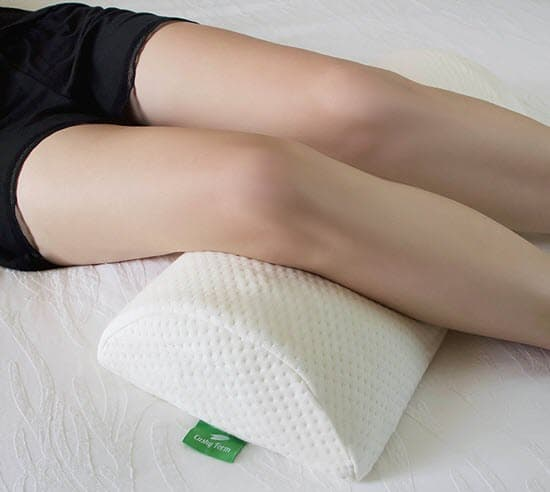 Cushy Form Back Pain Relief Memory Foam Knee Pillow