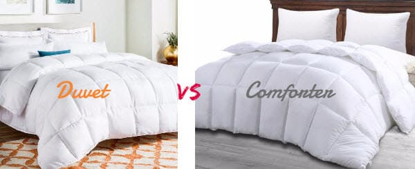 Duvet vs Comforter Difference