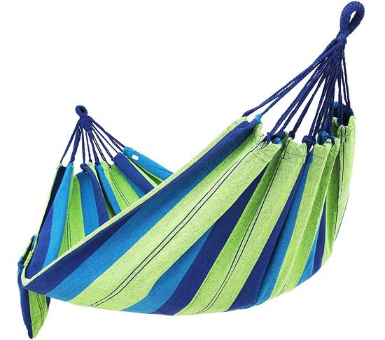 Cotton Hammock Swing Bed for Patio Porch