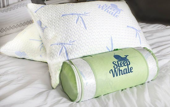 Sleep Whale Memory Foam Pillows