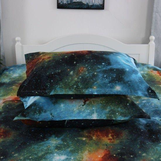 Uxcell Galaxy 3D Bedding Sets